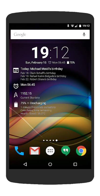 Chronus: Home & Lock Widgets 5.2 Screen 12