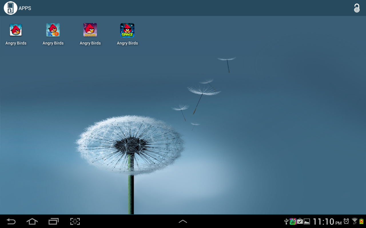 Save Me control your apps free 2.4 Screen 1
