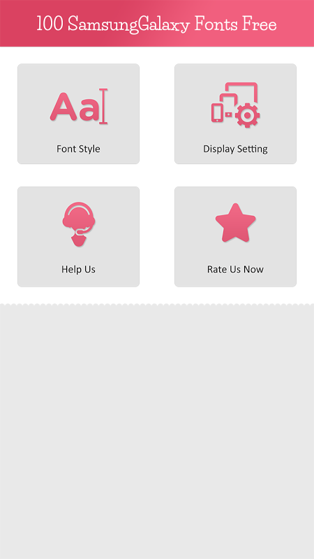 100 Samsung Galaxy Fonts Free 1 0 APK Download by Fonts Free