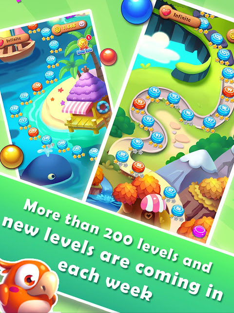 Android Bubble Bird Rescue 2 - Shoot! Screen 5