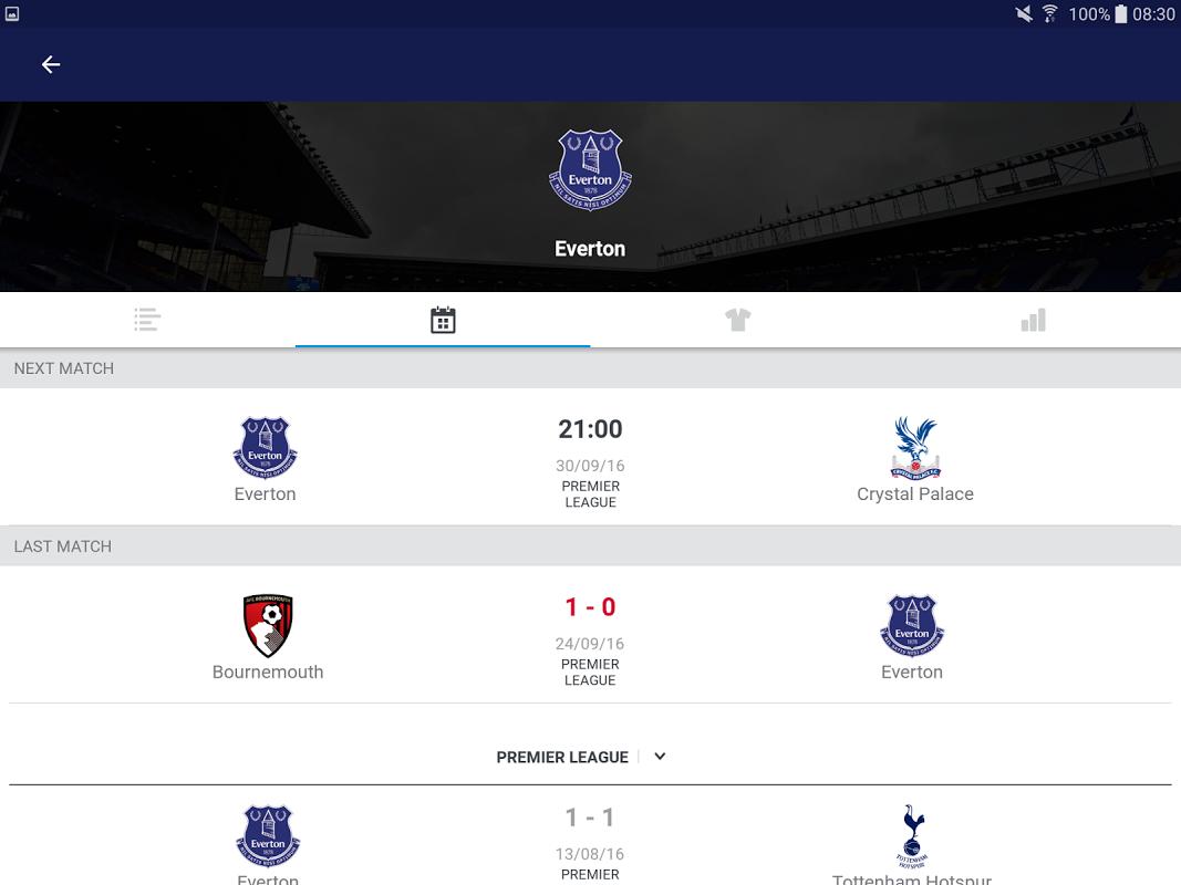 Android Eurosport Screen 5