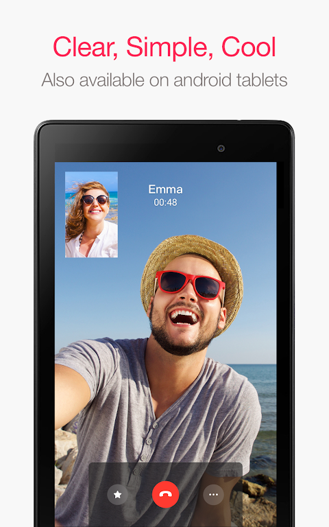 JusTalk - Free Video Calls and Fun Video Chat 7.2.54 Screen 8