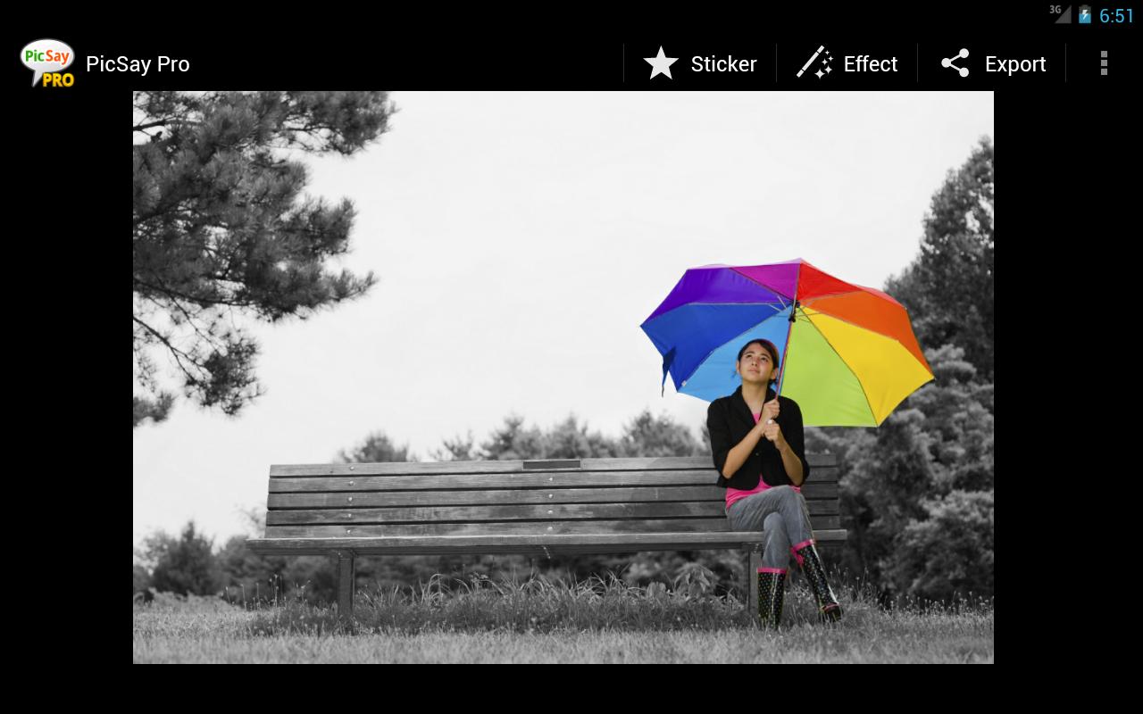 PicSay Pro - Photo Editor 1.8.0.5 Screen 1