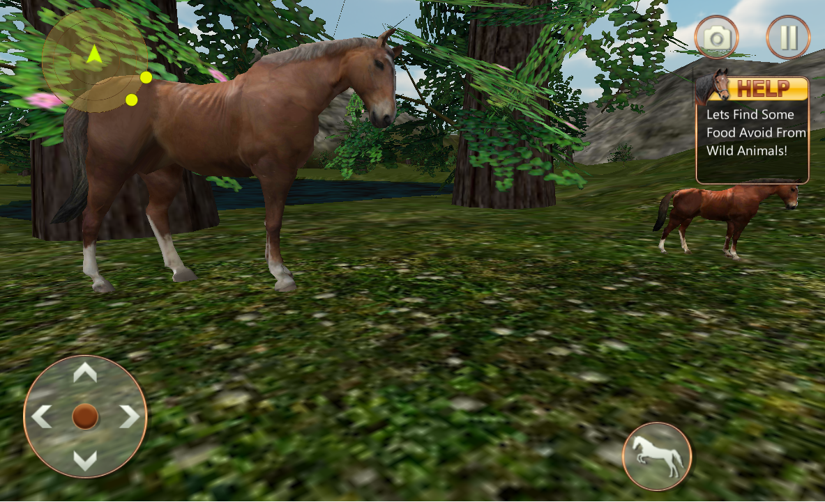 Android Life of Horse - Wild Simulator Screen 4