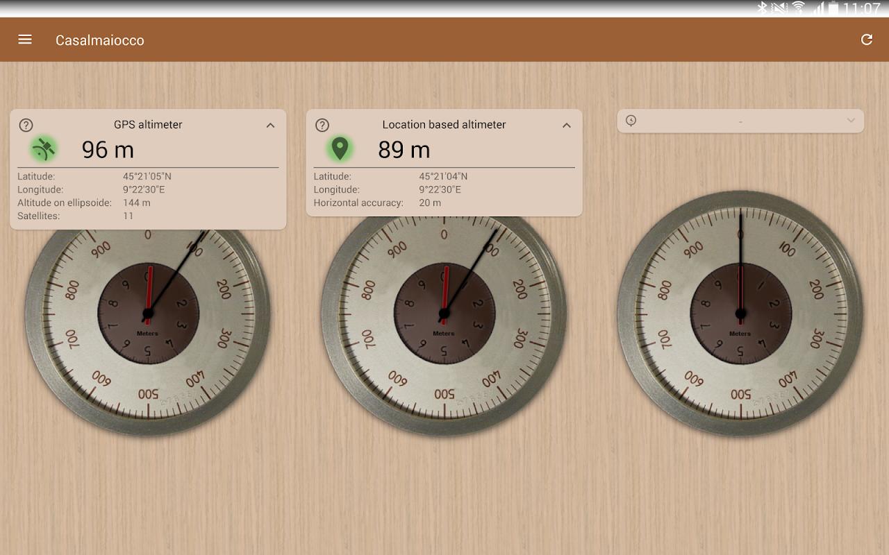 Accurate Altimeter PRO 2.2.0 beta2 (hacky® edition) Screen 6