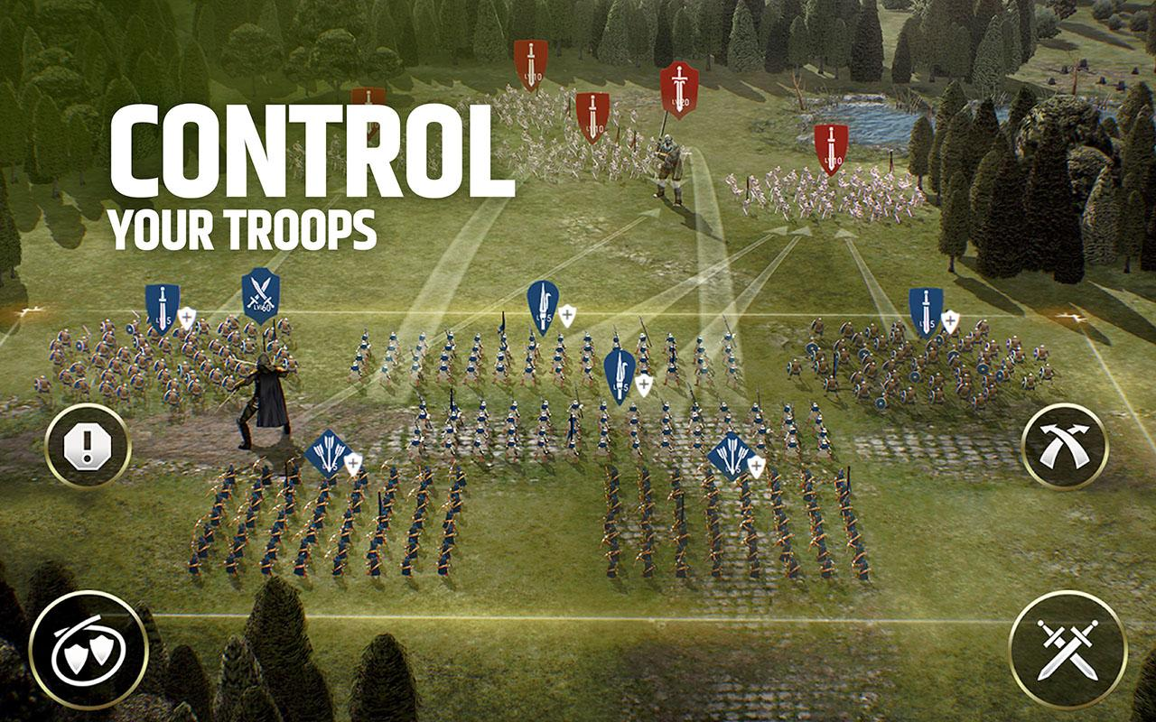 Android Dawn of Titans - Epic War Strategy Game Screen 2