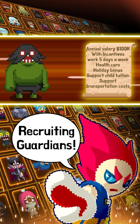 Android Videogame Guardians Screen 4