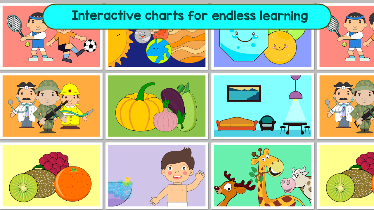 Android Kindergarten Kids Learning : Educational Games Screen 14
