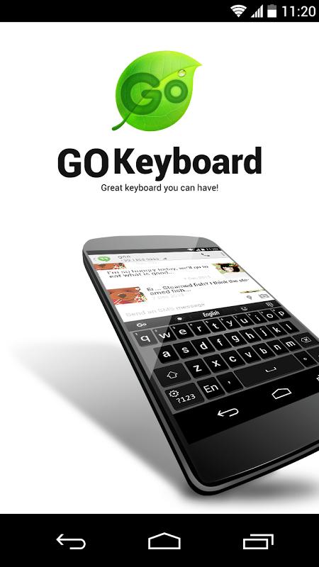GO Keyboard 2.07 Screen 1