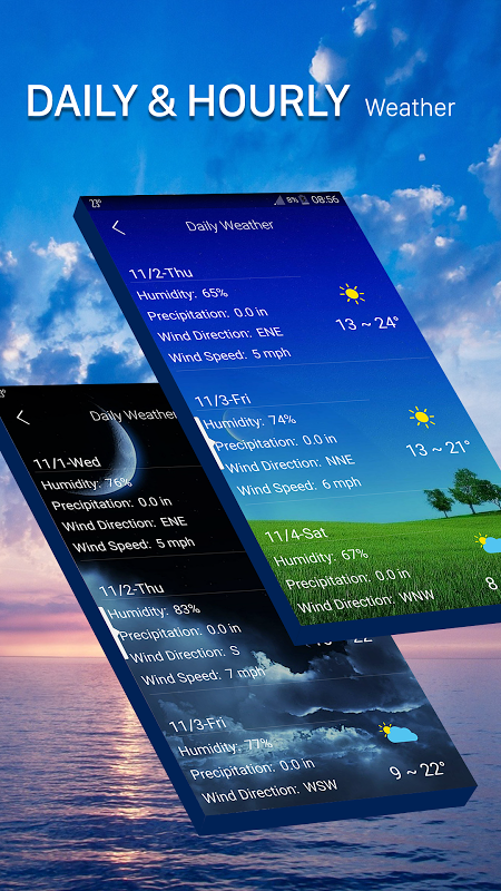Android Weather radar Screen 4