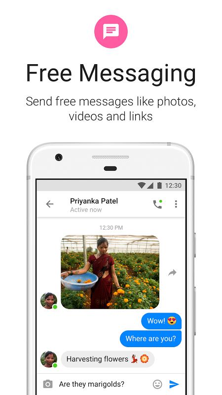 Messenger Lite 20.0.0.7.270 Screen 2