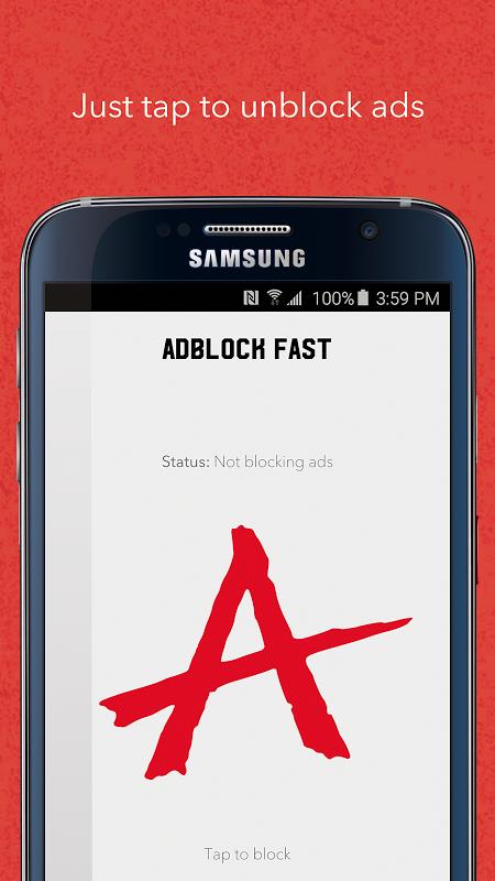 Android Adblock Fast Screen 2