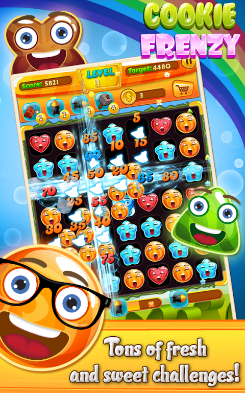 Android Cookie Frenzy Screen 1