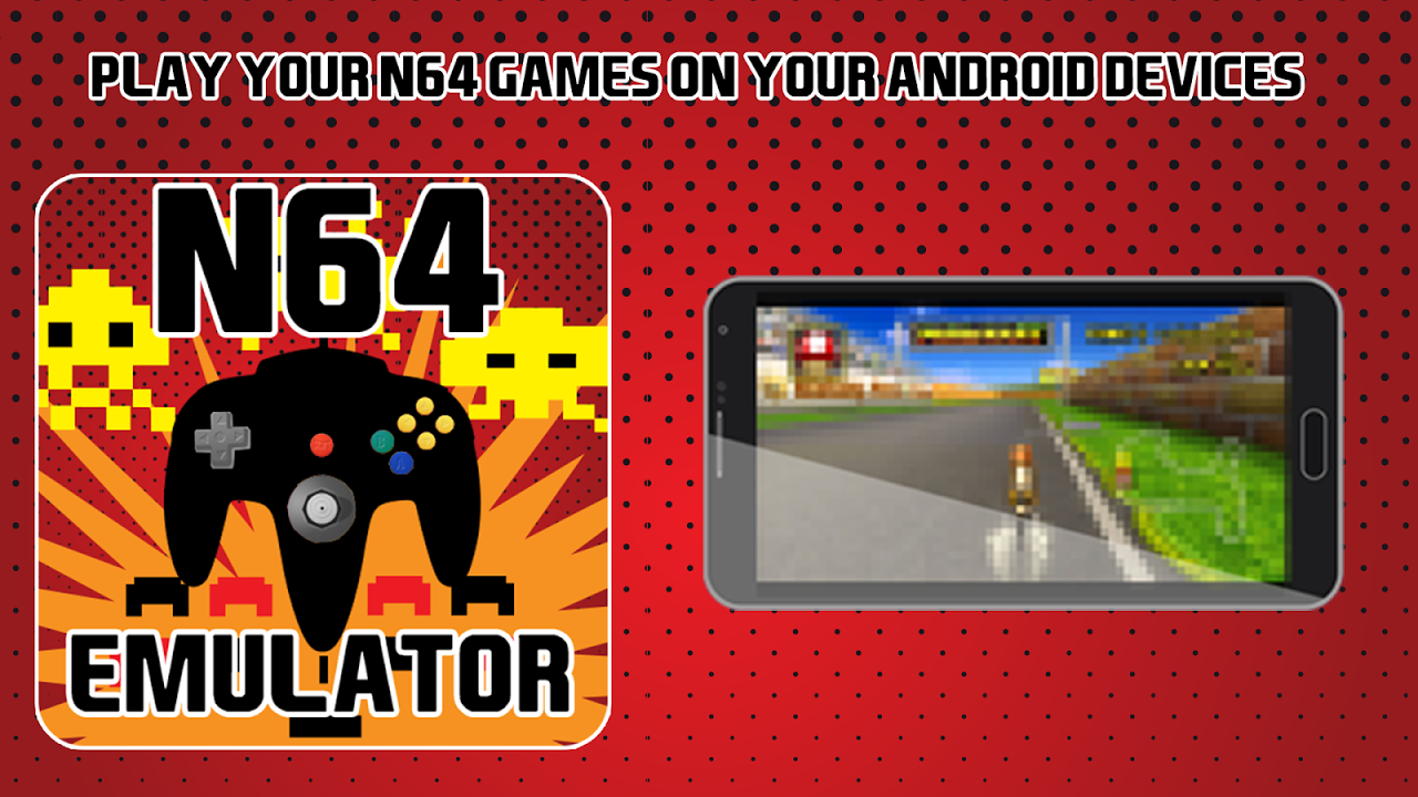 Android Emulator for N64 Screen 2