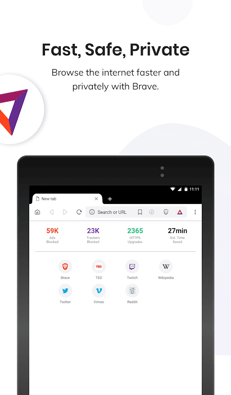 Brave Privacy Browser: Fast, safe, private browser 1.4.3 Screen 12