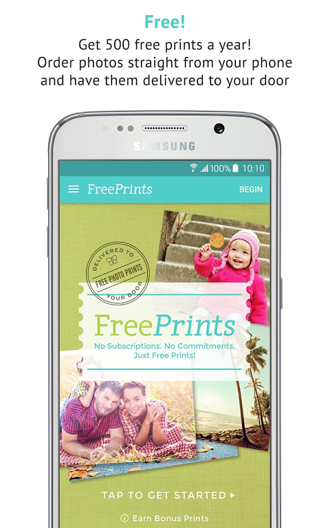 Android FreePrints - Free Photos Delivered Screen 9