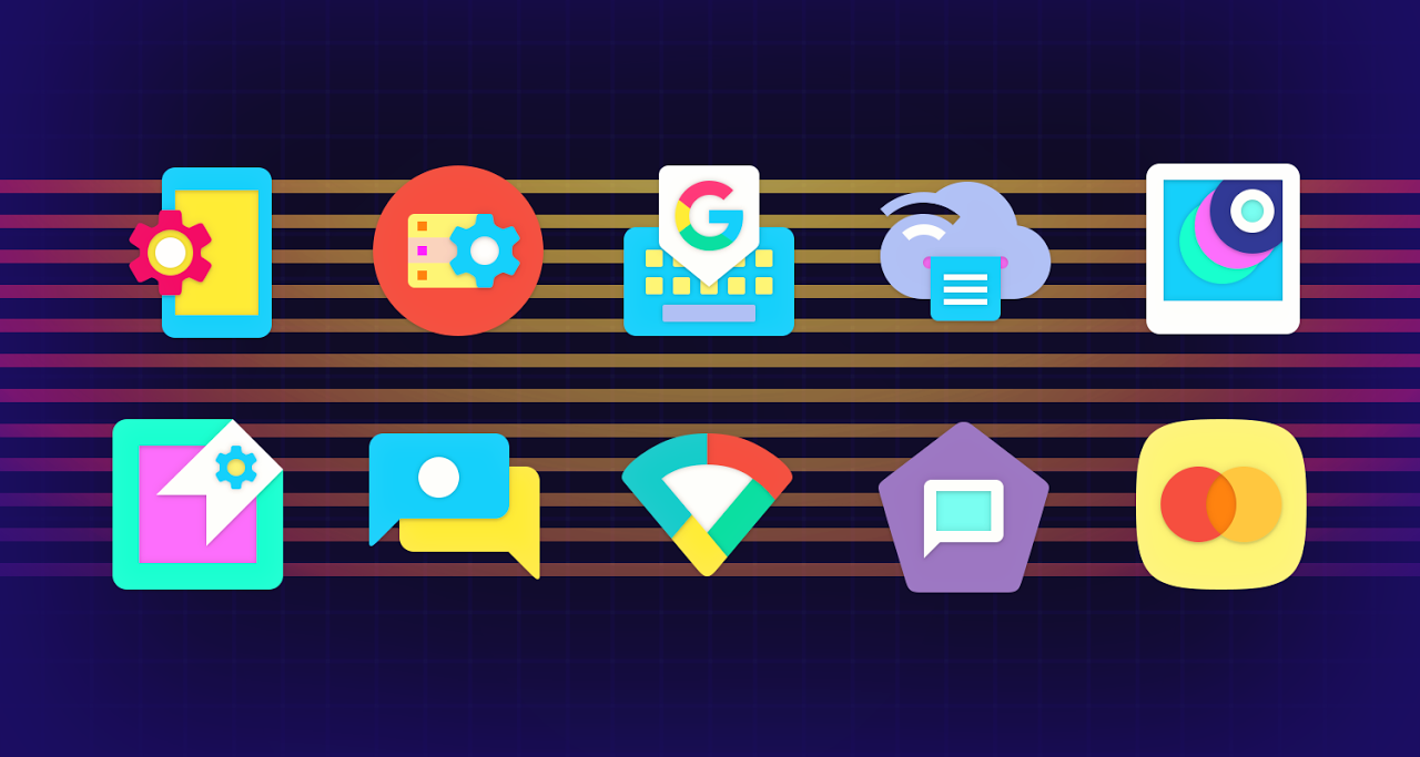 Android Ultra Icon Pack Screen 16