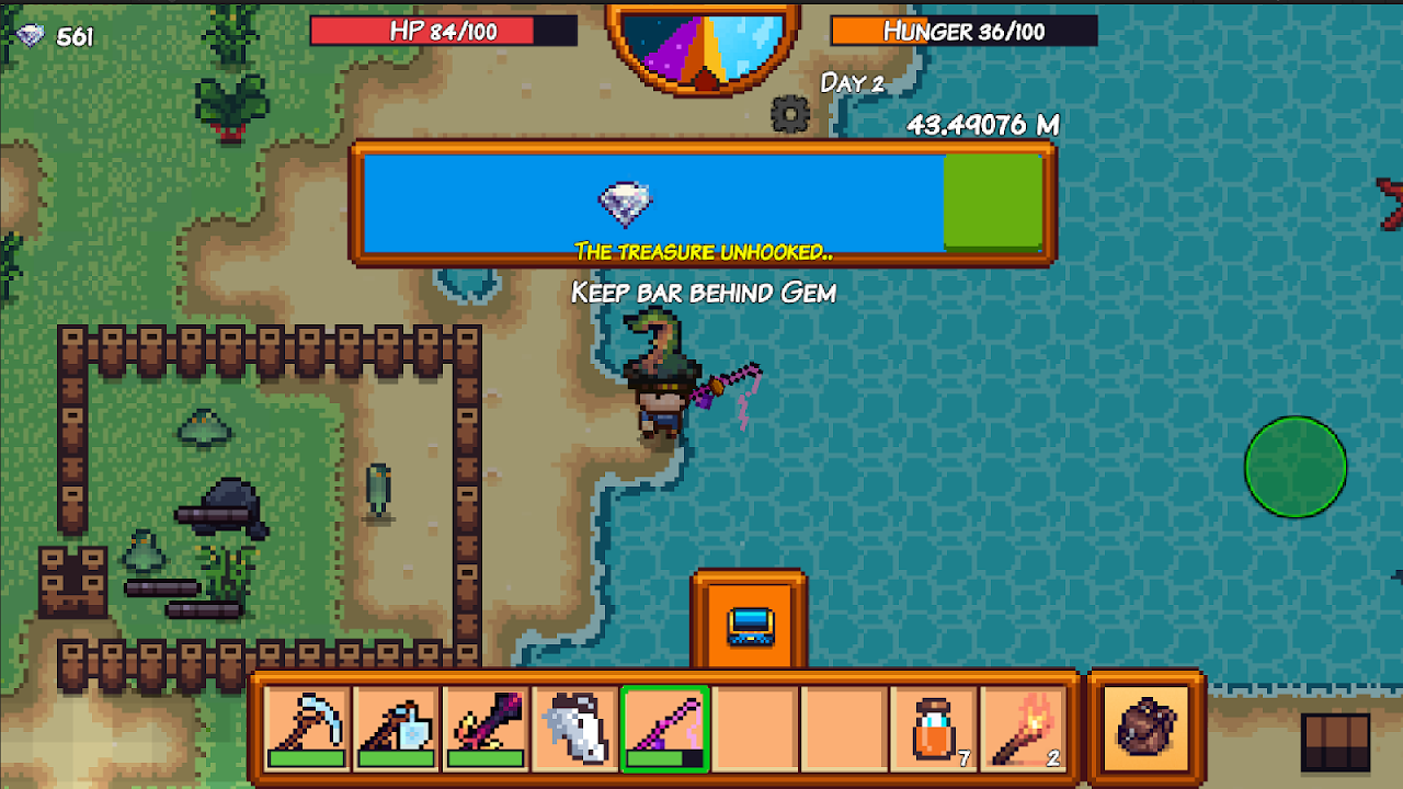 Android Pixel Survival Game 3 Screen 4