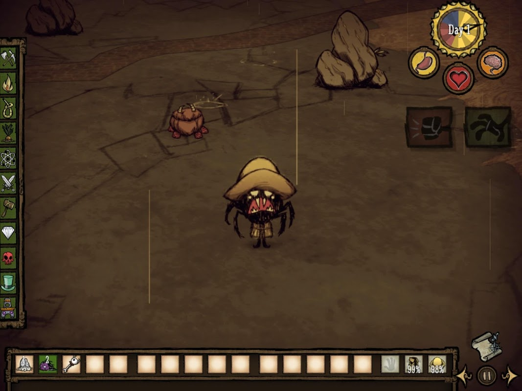 Don't Starve: Pocket Edition 1.07 Screen 4