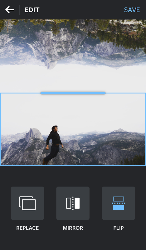 Android Layout from Instagram: Collage Screen 1