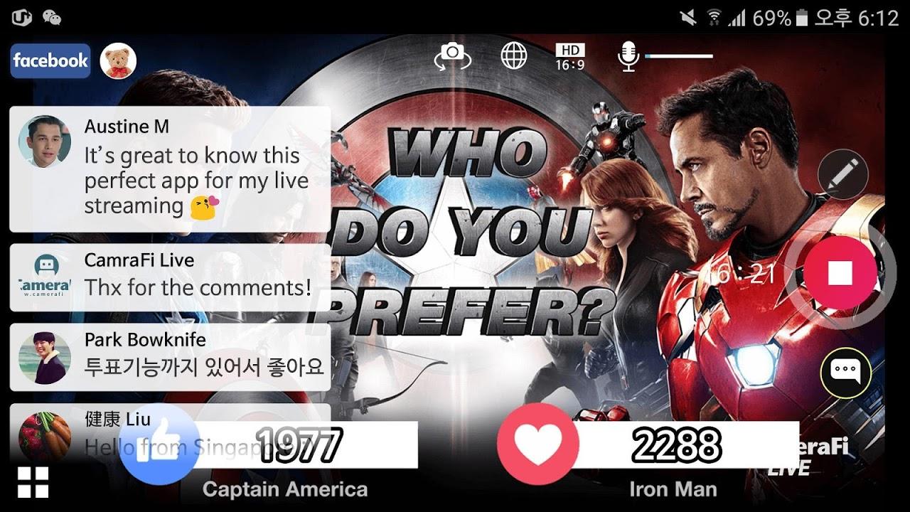 CameraFi Live 1.9.33.0928 Screen 13