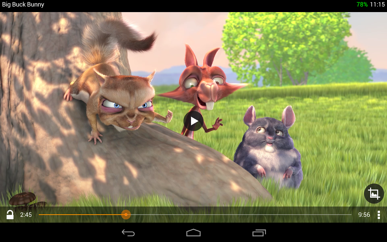 Android VLC for Android Beta Screen 2