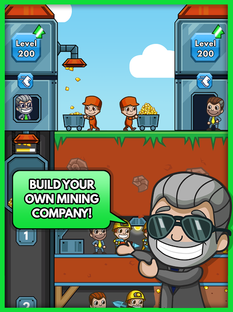 Android Idle Miner Tycoon Screen 7