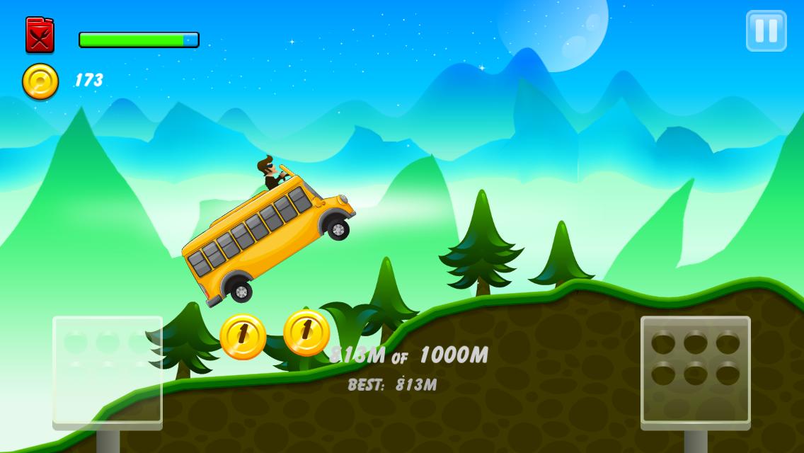 Android Hill Racing: mountain climb Screen 8