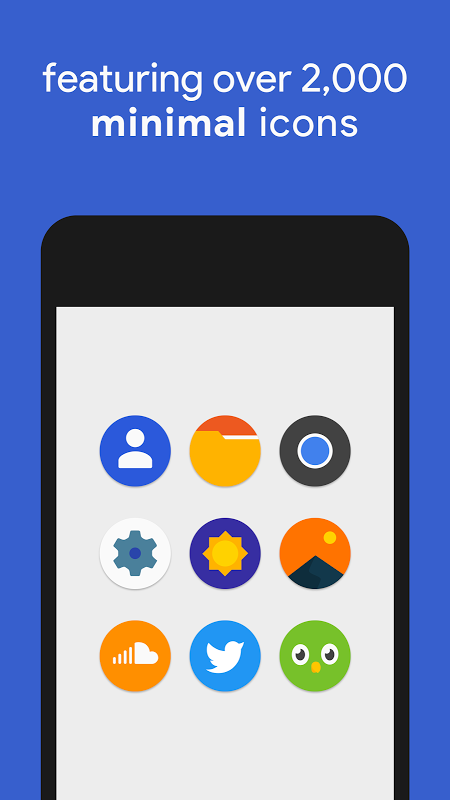Android Pixly - Pixel 2 Icon Pack Screen 1