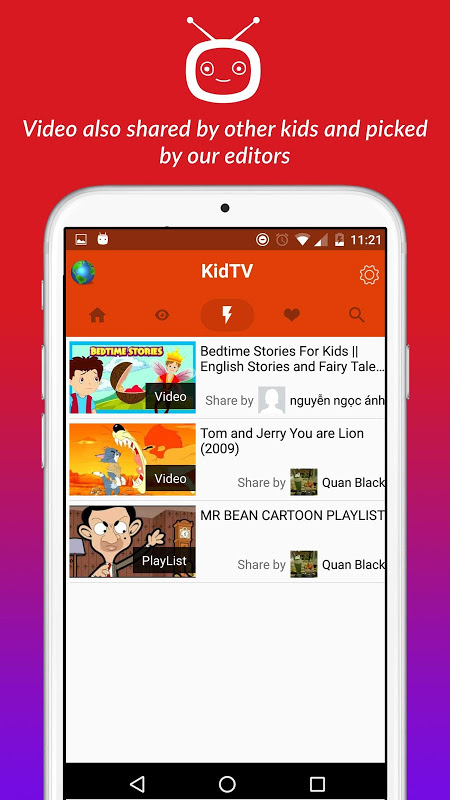 net.studio7.kidTV 1.1.5 Screen 2