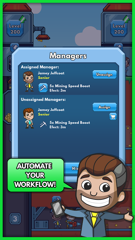 Android Idle Miner Tycoon Screen 5
