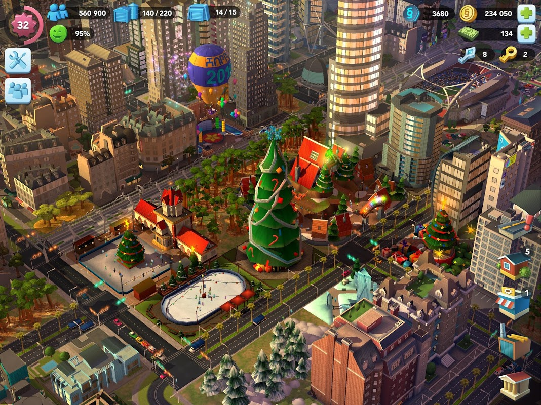 Android SimCity BuildIt Screen 5
