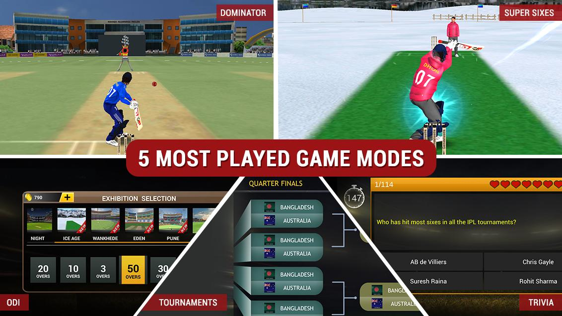 Android MS Dhoni: The Official Cricket Game Screen 5