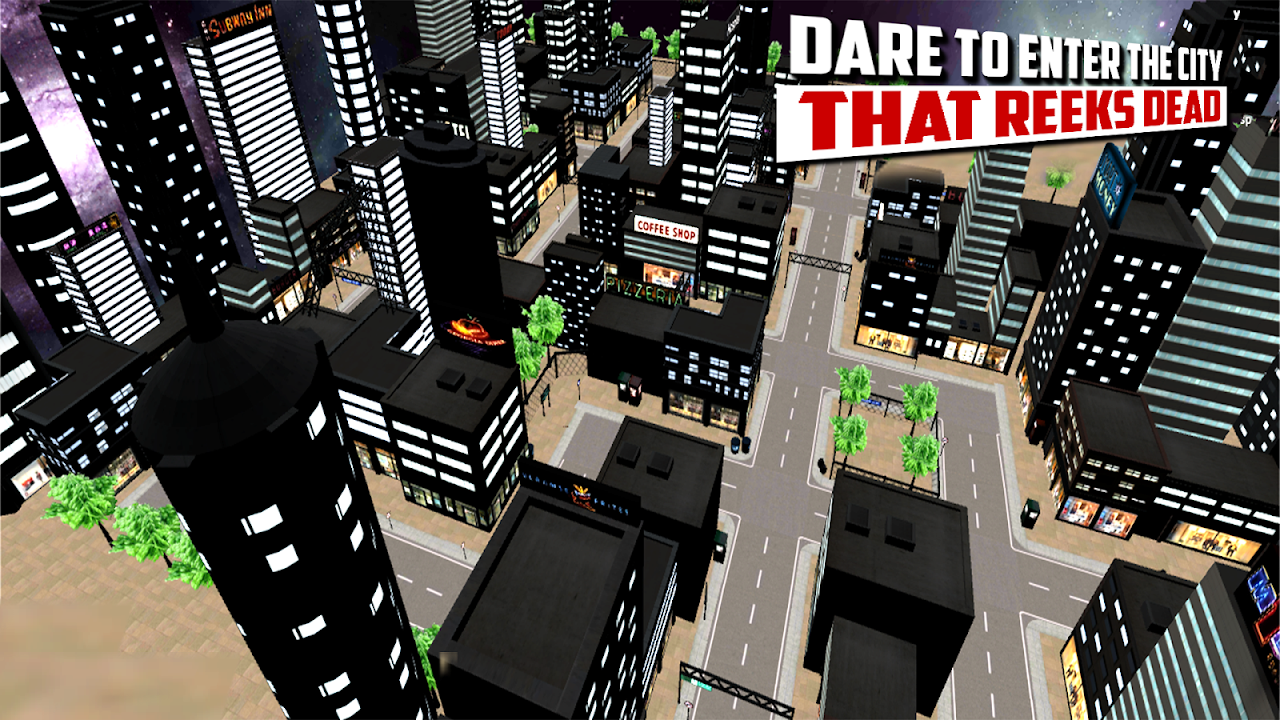 Android City Hunter 3D Zombie Killer Screen 2