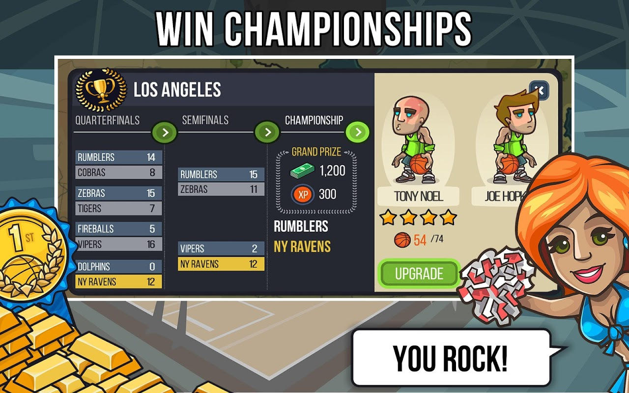 Android Basketball Battle Screen 3