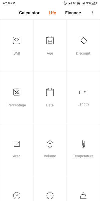 Mi Calculator 11.0.1 Screen 2