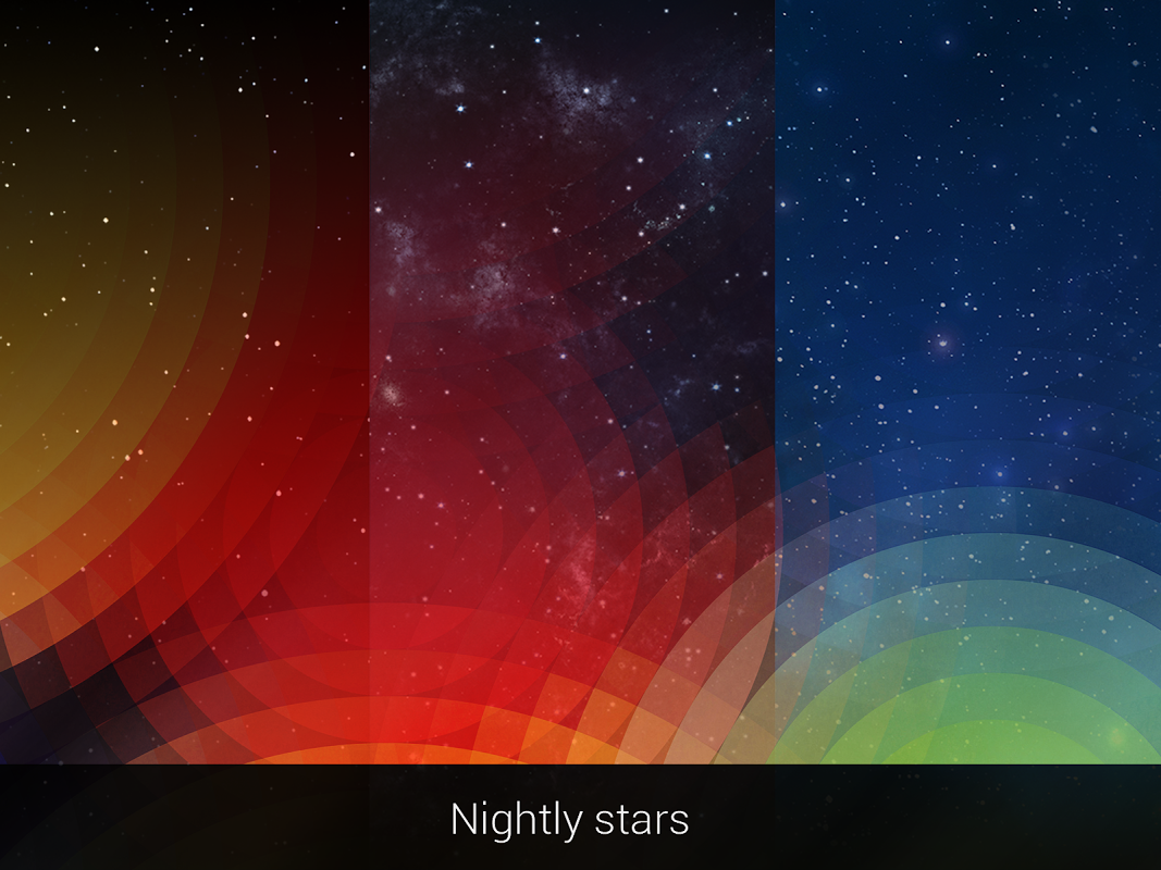 Android Weather: Weatherback, Effects on your homescreen Screen 5