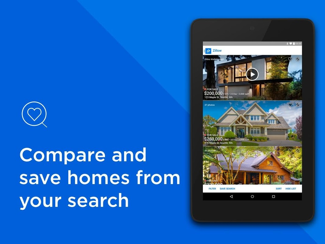 Android Zillow: Find Houses for Sale & Apartments for Rent Screen 6