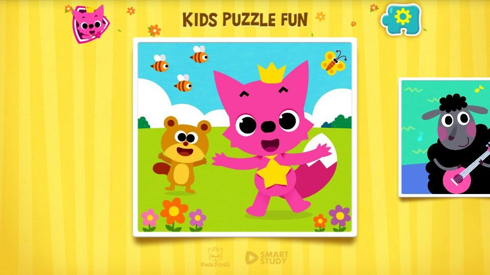 PINKFONG Kids Puzzle Fun 9 Screen 5