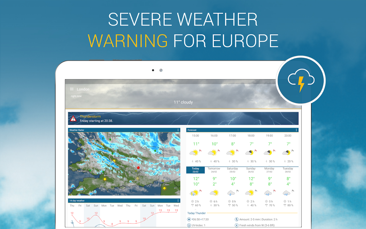 Weather & Radar UK 4.41.2 Screen 9
