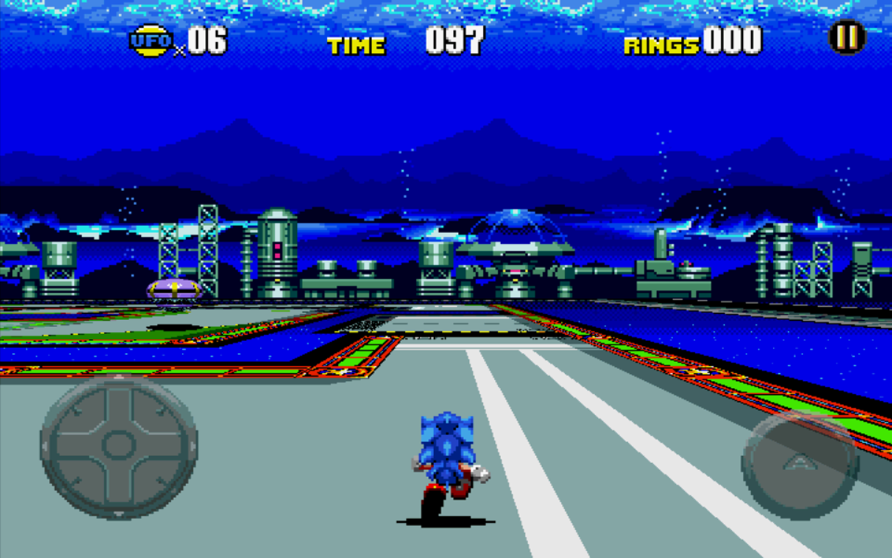 Android Sonic CD Screen 4
