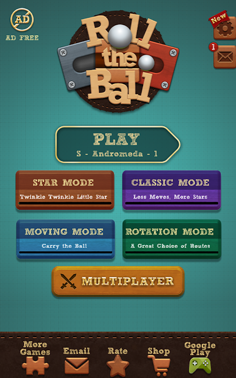 Roll the Ball� - slide puzzle 1.7.46 Screen 4