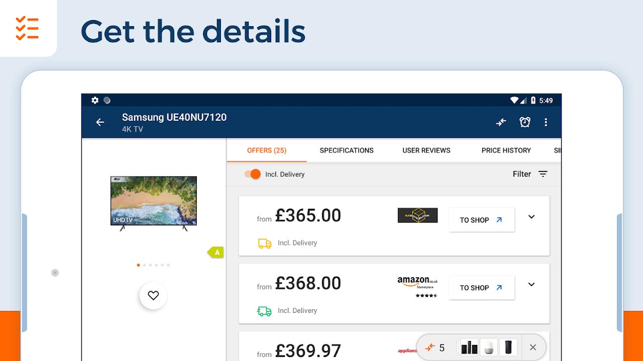 idealo - Price Comparison & Mobile Shopping App 10.3.7 Screen 19