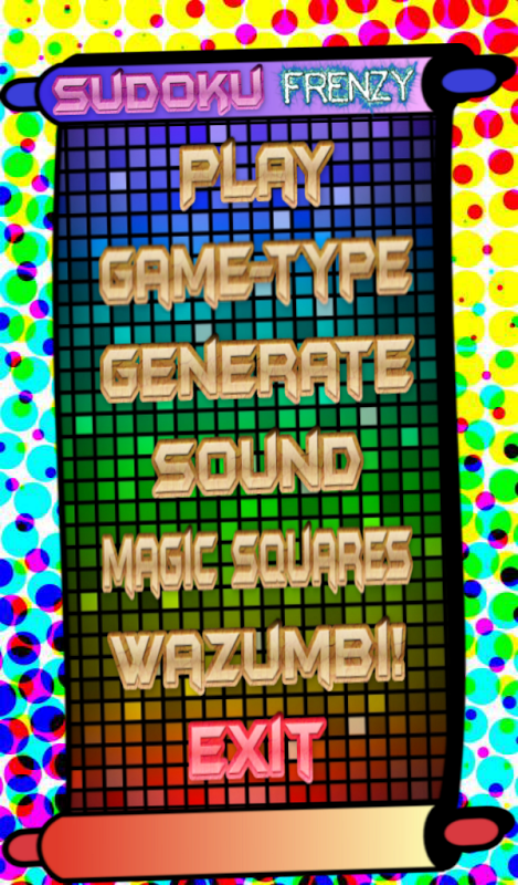 Android Sudoku Frenzy Puzzle Screen 6