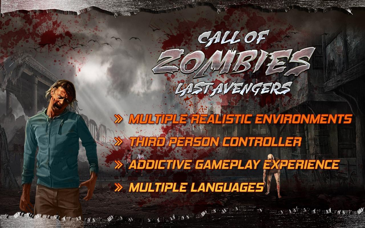 Android Call of Zombies Last Avengers Screen 3