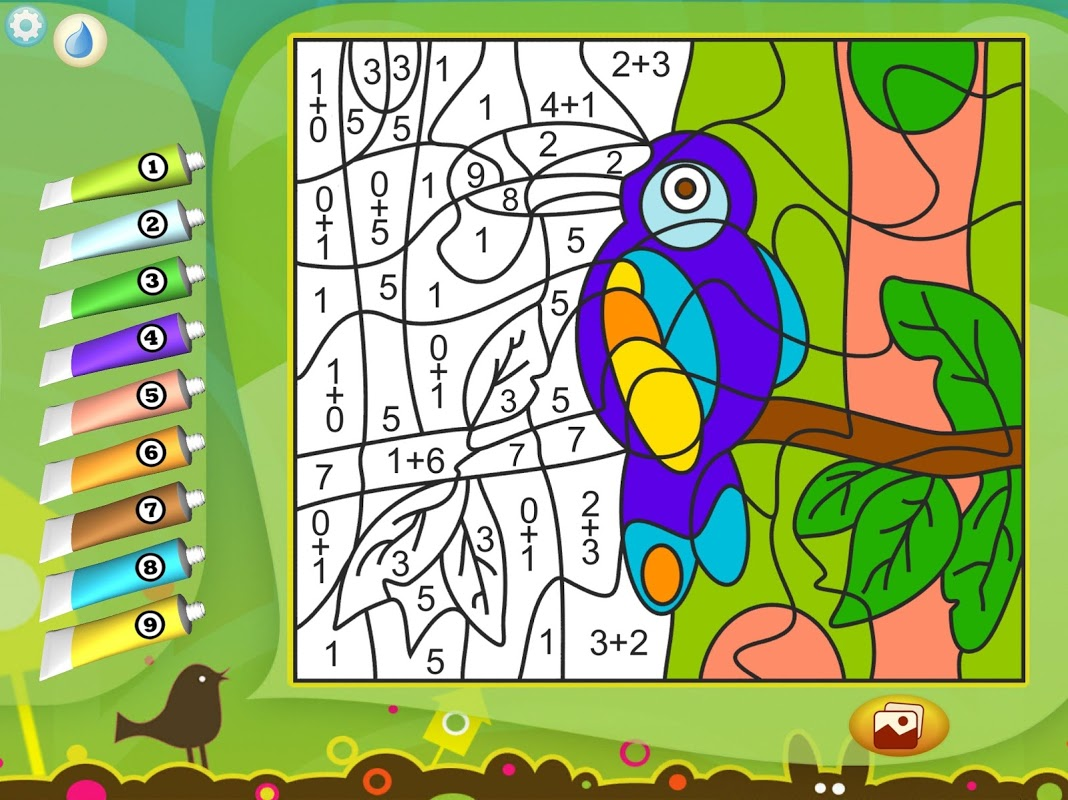 Android Paint by Numbers - Animals Screen 4