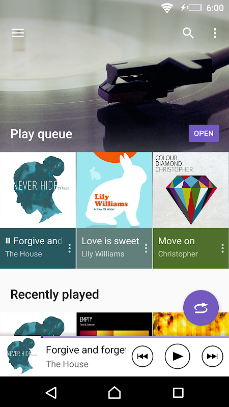 Android Music Screen 5