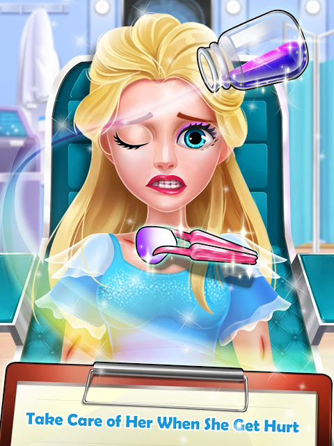 Android Ice Princess Heart Surgery Screen 3