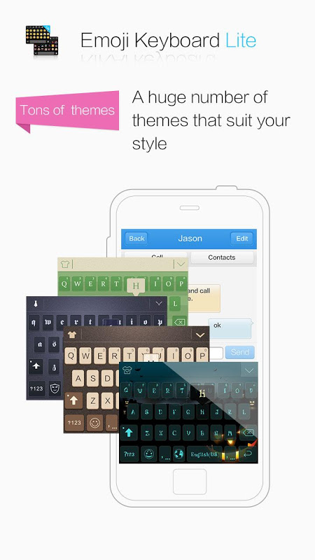 2018Emoji Keyboard 😂 Emoticons Lite -sticker&gif 7.0.1.253 Screen 2