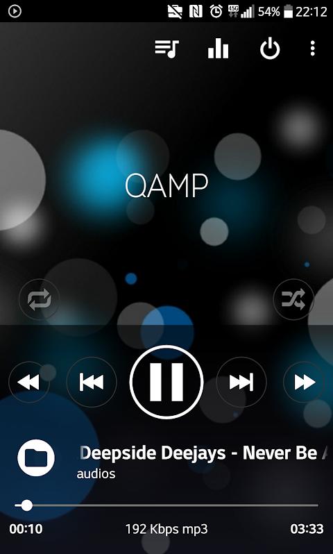 Mp3 player - Qamp 1.0.085 Screen 3